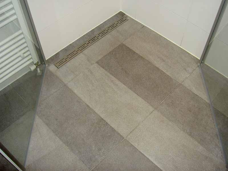 Projecten van daanbouwt klusbedrijf in den haag - Badkamer betegelde vloer ...