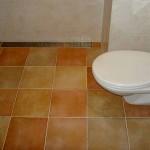 Toilet met klassieke uitstraling