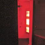Inloopdouche met infrarood
